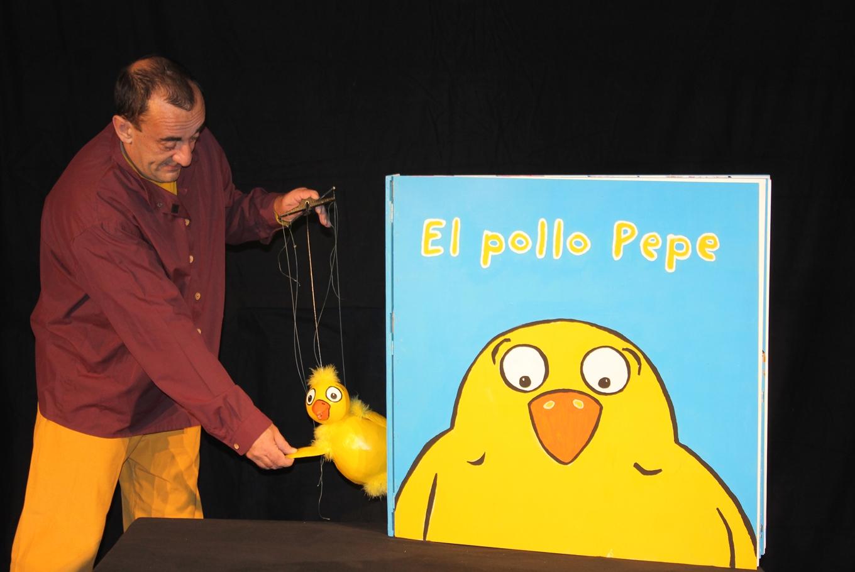 Teatro para niños 'El Pollo Pepe' en Teatro Tarambana (Madrid)