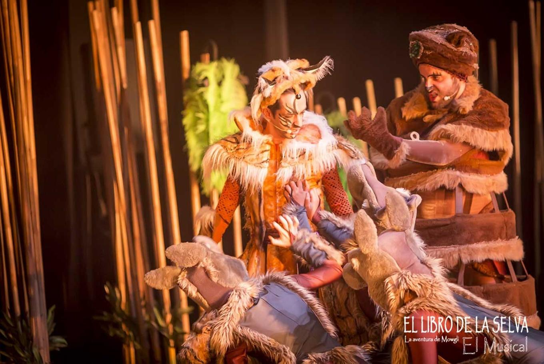 'El libro de la selva: La aventura de Mowgli El Musical' en Teatro Sanpol (Madrid)