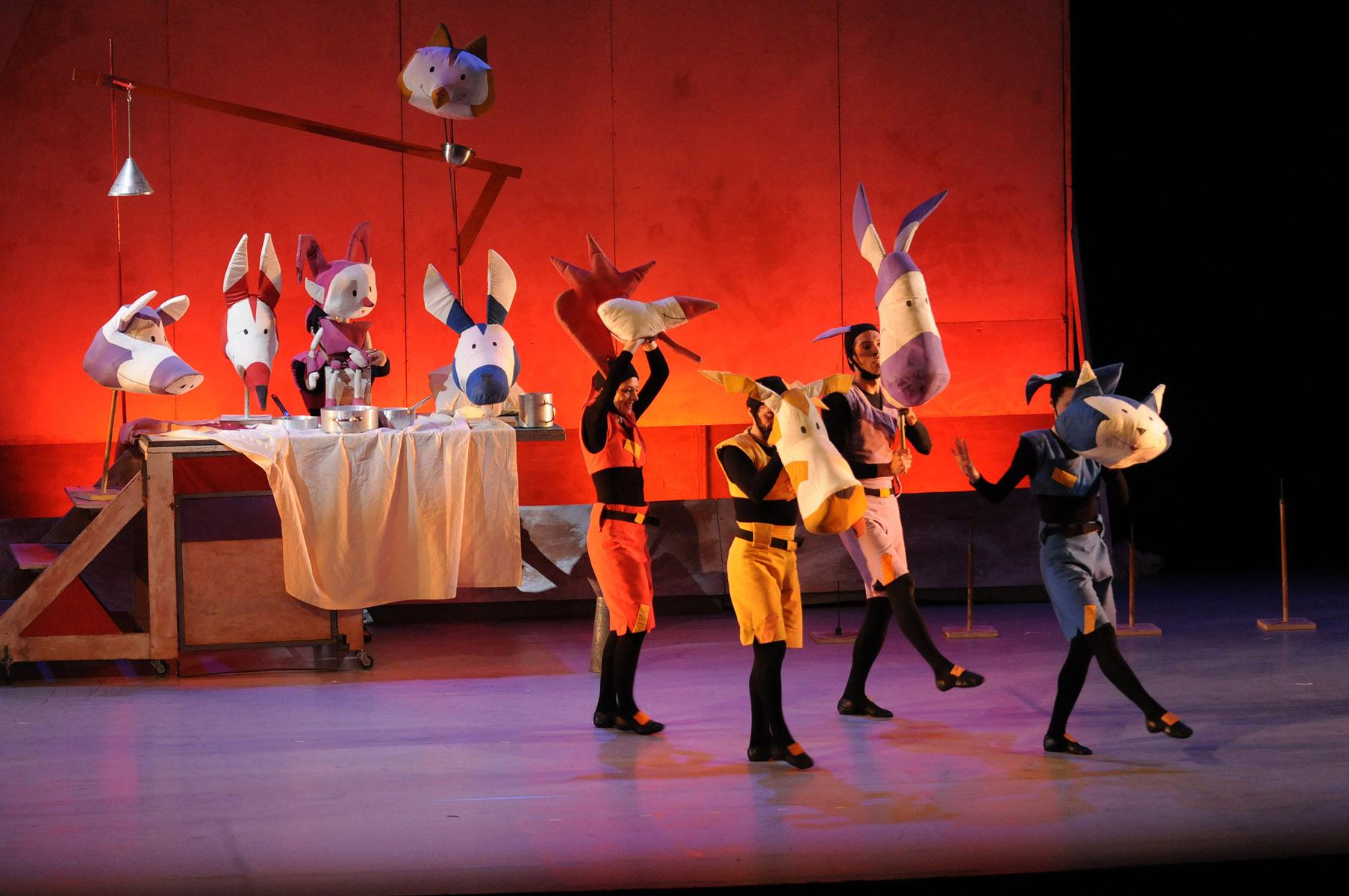 Espectáculo 'Els músics de Bremen' en Gran Teatre del Liceu (Barcelona)