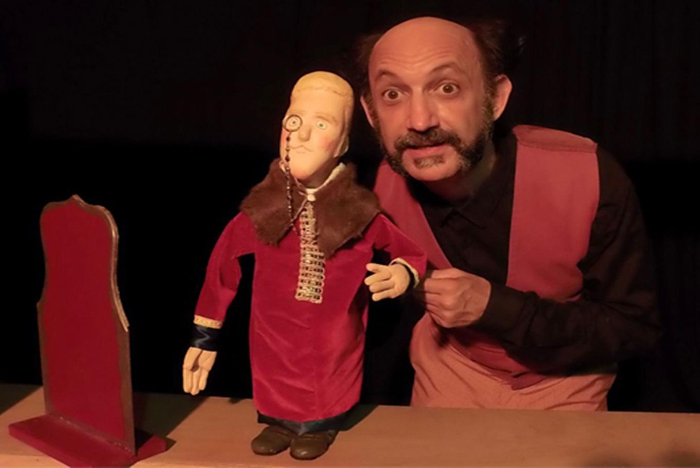 Títeres 'El nuevo traje del emperador' en Carme Teatre (Valencia)