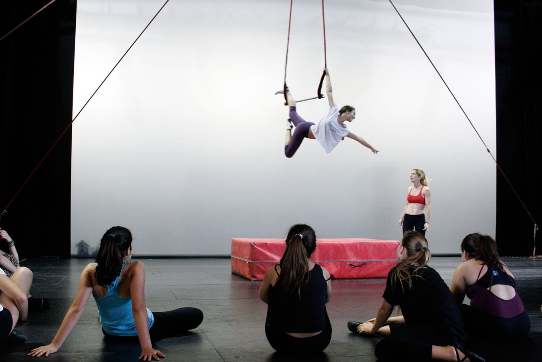 Escuela de Verano de Circo en La Rambleta (Valencia)