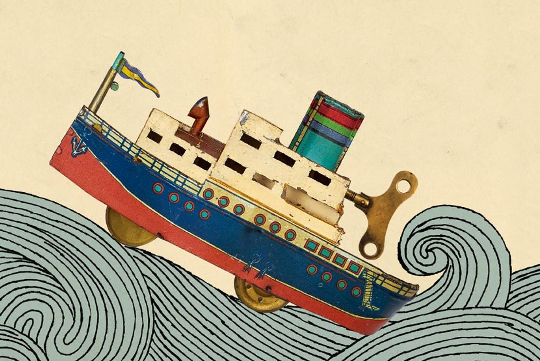 Exposición 'La mar de juguetes' en Untzi Museoa-Museo Naval (Donostia-San Sebastián)