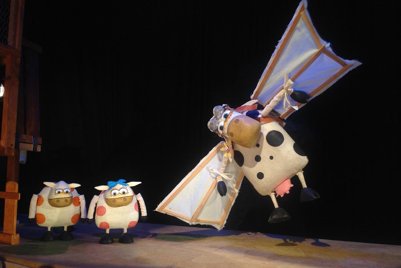 Títeres 'La extraordinaria historia de la vaca Margarita' en Sala La Fundición (Sevilla)