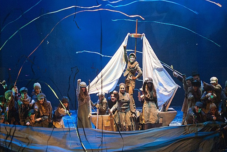 Ópera para niños 'El cuento de Navidad' en Teatro Arriaga (Bilbao)