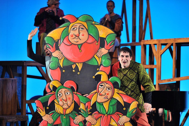 Espectáculo 'Guillem Tell' en Gran Teatre del Liceu (Barcelona)