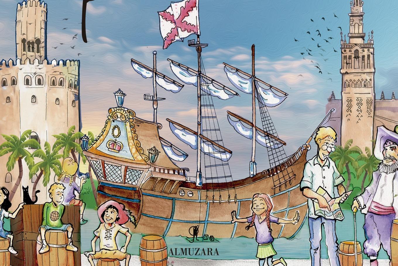 Presentación del libro 'Historia de Sevilla para niños' en Librería Baobab Los Remedios (Sevilla)