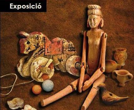 Exposición  'Juegos y juguetes en la antigüedad' en Museo de Arqueología de Cataluña (Girona) (Girona)