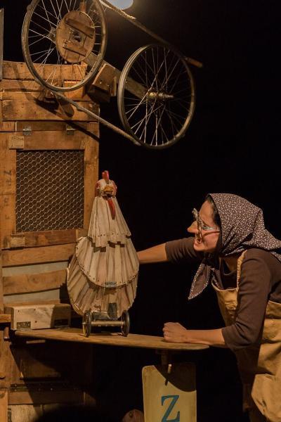 'La gallina dels ous d'or' en Sant Andreu Teatre (Barcelona)