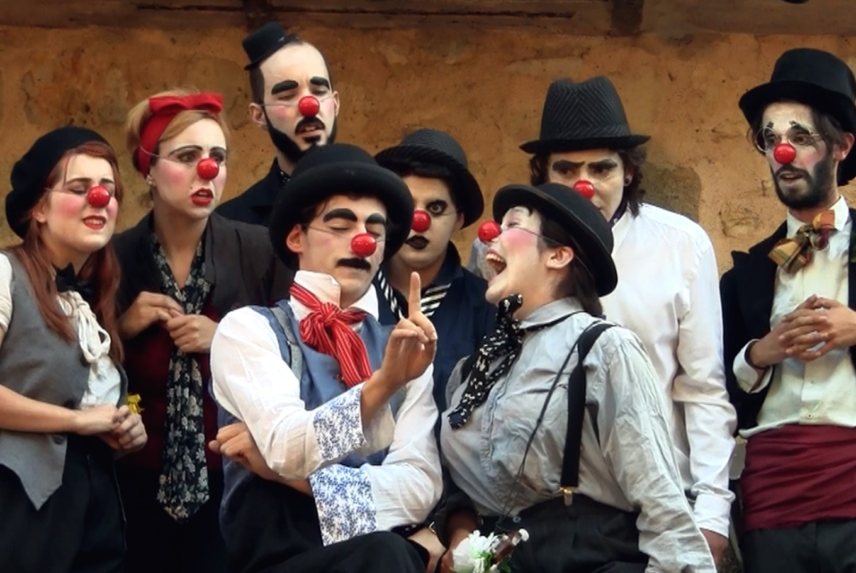 'La tragiclownmedia de Romeo y Julieta' en Teatro Salón Cervantes (Madrid)