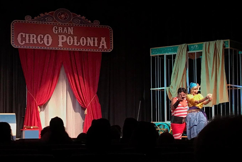 Espectáculo 'La vida es sueño y circo' en Teatro Cuyás (Las Palmas de Gran Canaria)