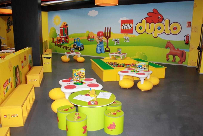 Lego Fun Factory en Aqua en Centro Comercial Aqua Multiespacio (Valencia)