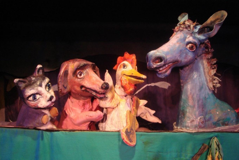 Teatro 'Los músicos de Bremen' en Teatro La Estrella (Sala Cabanyal) (Valencia)