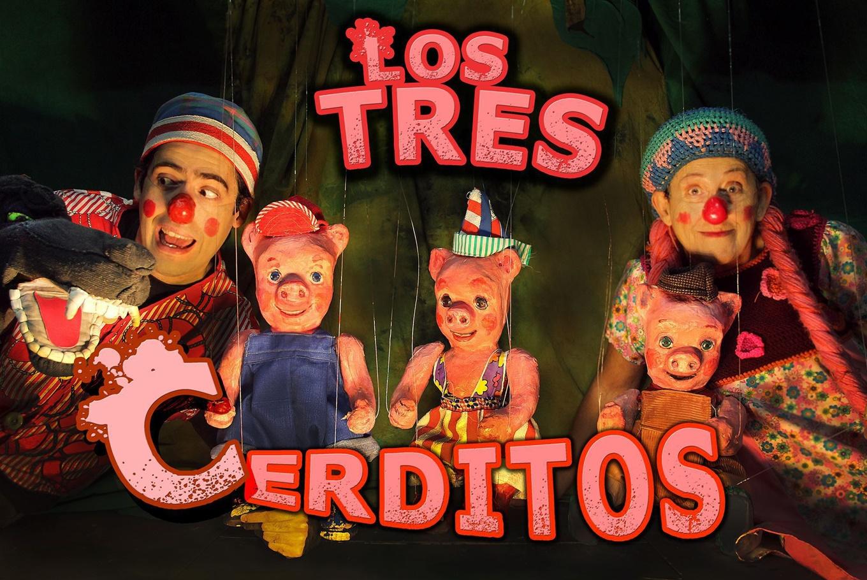Títeres 'Los tres cerditos' en Sala Petxina (Valencia)