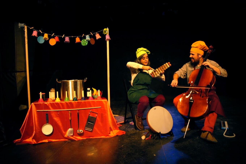 Espectáculo musical 'Nyam, nyam!' en Sala Fènix (Barcelona)