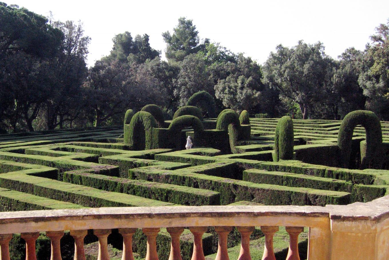 Visita de verano al Laberint d'Horta en Parque del Laberint d'Horta (Barcelona)