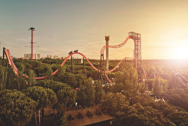 Día de emociones en el Parque de Atracciones en Parque de Atracciones de Madrid (Madrid)