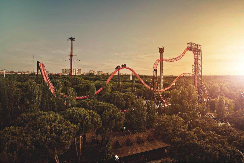 Vacaciones de verano en el Parque de Atracciones en Parque de Atracciones de Madrid (Madrid)
