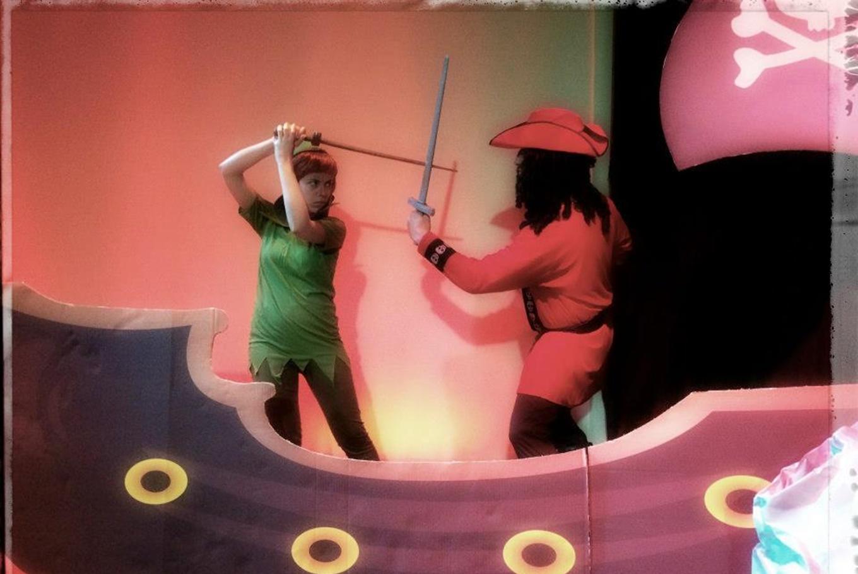 Teatro 'Peter Pan' en Sala Carolina (Valencia)