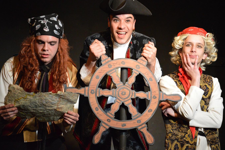 Teatro para niños 'El pirata Malapata en busca del tesoro' en Artespacio Plot Point (Madrid)