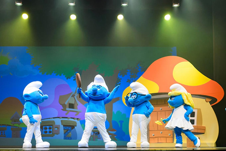 Espectáculo infantil 'Los Pitufos en vivo' en Palacio de Congresos de Valencia (Valencia)
