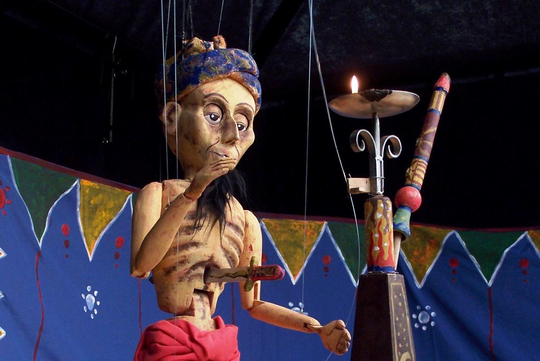 Títeres de hilo 'The Puppet Circus' en Teatro de Títeres de El Retiro (Madrid)