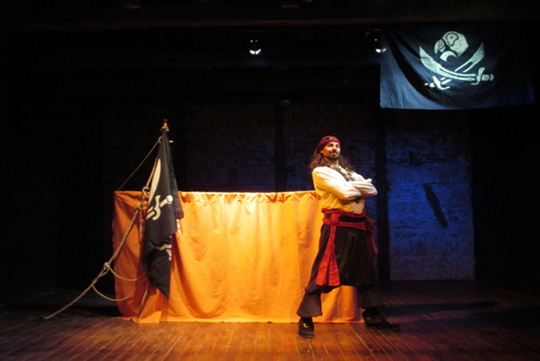 Títeres 'Quiero ser pirata' en Teatro de La Puerta Estrecha (Madrid)