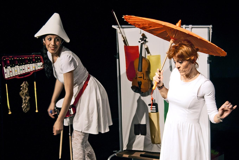 Teatro para bebés 'La Reina de los Colores' en Artespacio Plot Point (Madrid)
