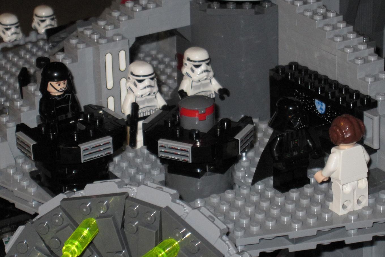 'Star Wars' en la Lego Fun Factory en Centro Comercial Espacio León (León)