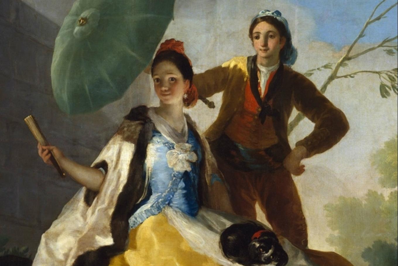 Taller familiar 'La maja del quitasol...' en Museo Goya - Colección Ibercaja (Zaragoza)