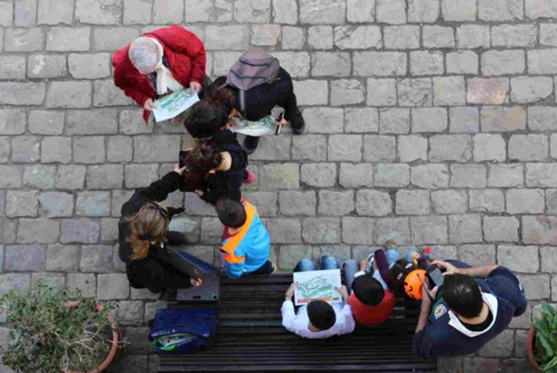 Taller 'Imaginem el castell' en Castillo de Montjuïc (Barcelona)