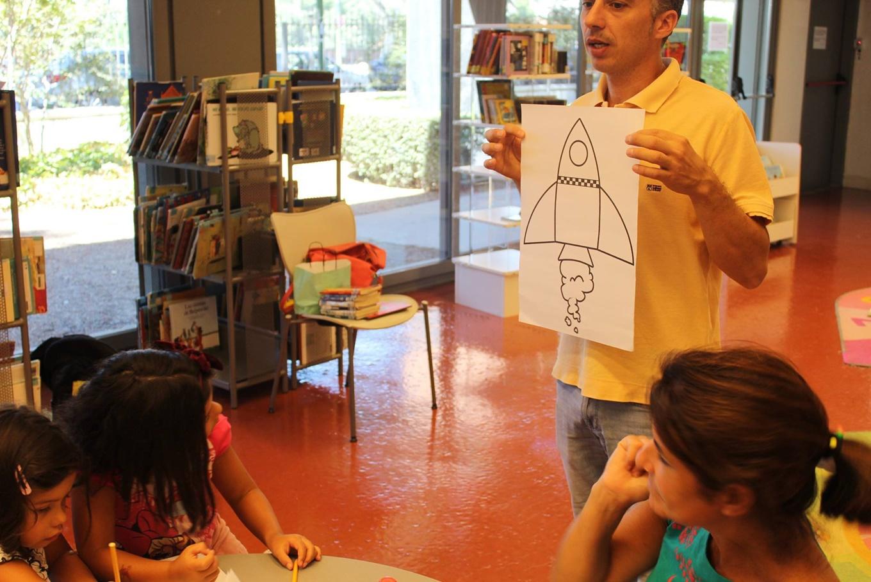 Talleres infantiles de verano en la Biblioteca Pública de Sevilla en Biblioteca Pública Infanta Elena (Sevilla)