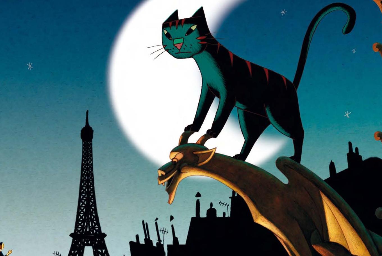 'Un gato en París' en CaixaForum Barcelona (Barcelona)