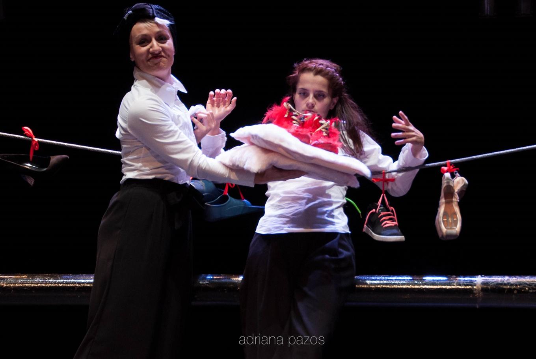 Espectáculo 'Up2down' en Centro Ágora (A Coruña)