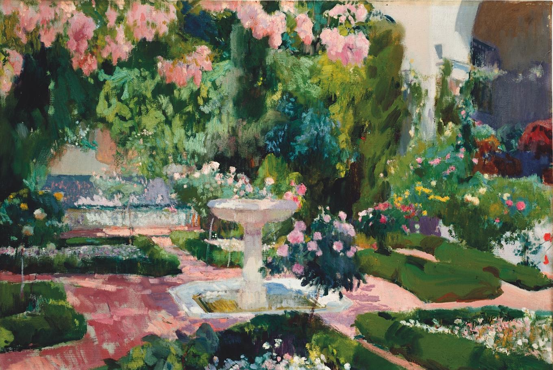 Visita familiar a 'Sorolla, un jardín para pintar' en Caixaforum Sevilla (Sevilla)